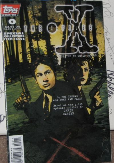 X-Files comic special issue number 0