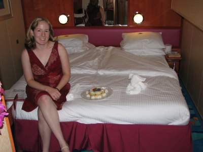 Mrs. splorp! in our stateroom
