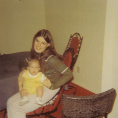 Young splorp! with Evil Mom Beast at Thanksgiving 1971