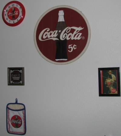 Wall o' Coke stuff